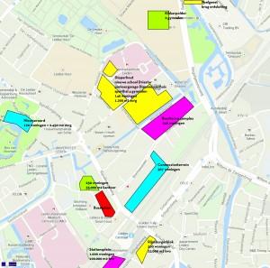 Bouwplannen 0Leiden Noordwest+Stationsgebied